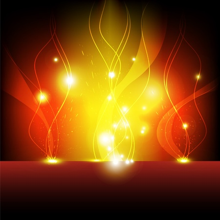 flame eruption background Stock Vector - 13589990