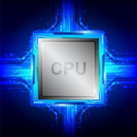 processor van de computer-technologie