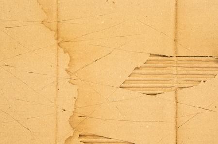 scratch cardboard photo