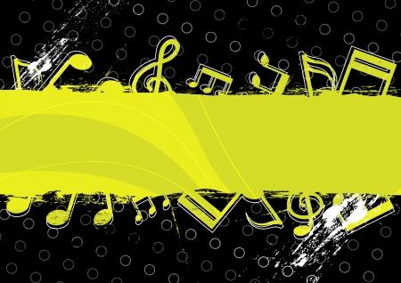 audition: muzyka grafika projektowanie grunge