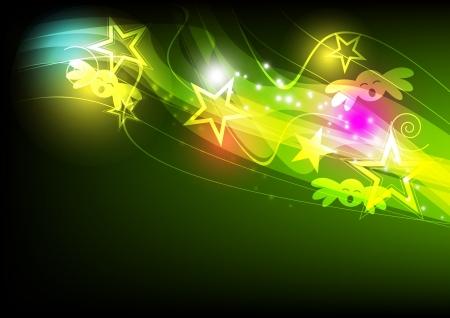 multimedia background: festival background design