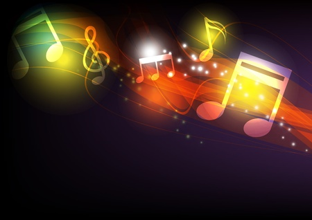 multimedia background: music concept background