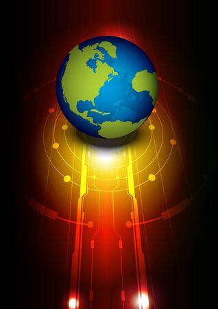 global technology Stock Vector - 14549090