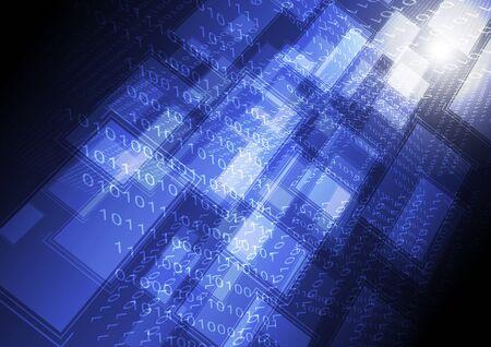 transferring: computer transferring data background