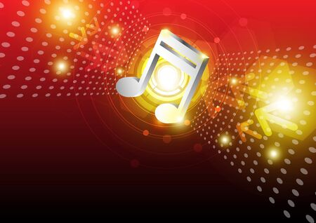 digital music: digital music background design