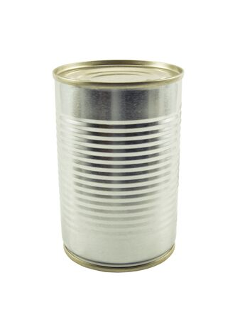 can on isolated backgrpund : contain clipping path photo