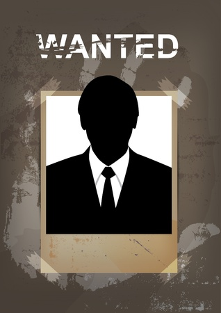 dangerous man: grunge wanted poster