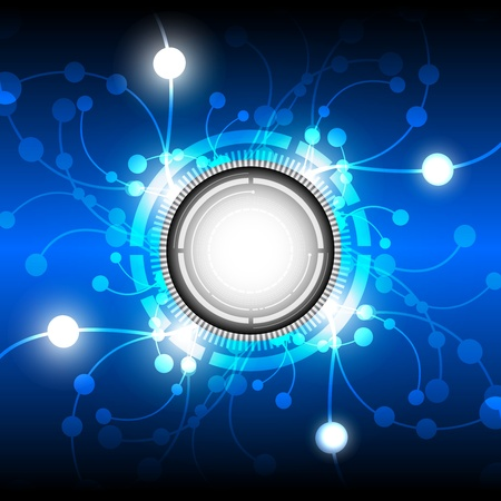 Кнопки: абстрактный фон кнопки энергии Иллюстрация