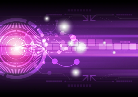 abstract technology background Stock Vector - 15474060