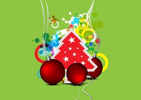 christmas celebration background design Stock Vector - 15641781
