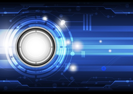 technology concept background Stock Vector - 16220000