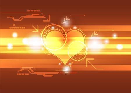 cardiograph: cardiograph technology concept
