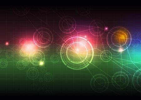 abstract science background design photo