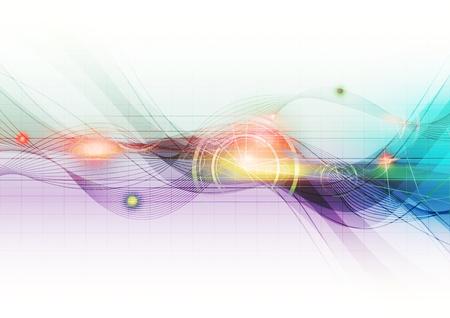 нано: Современный абстрактный фон Фото со стока