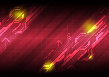 abstract technology background Stock Vector - 16600624