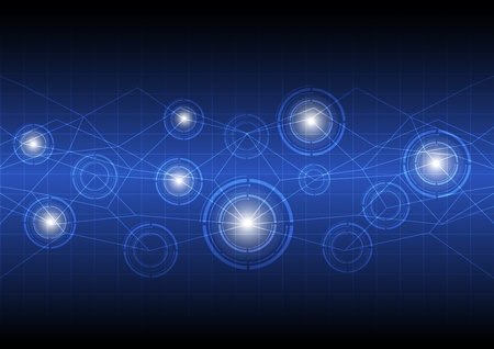 future digital concept technology Illustration