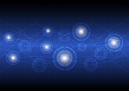 toekomstige digitale concept van technologie