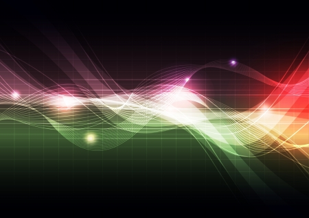 future advertising: abstract background design Illustration