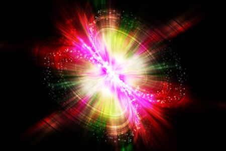 abstract explosion background Stock Photo - 17094239