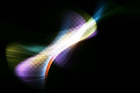glowing shape background Stock Photo - 17093582