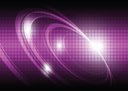 wavelength: fondo la tecnolog�a digital Vectores