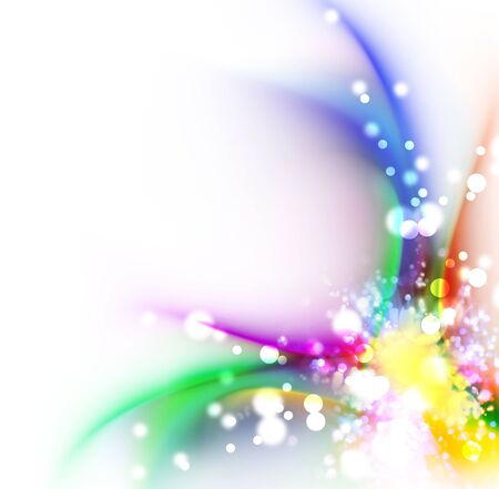 abstract rainbow color background design Stock Photo - 17743389