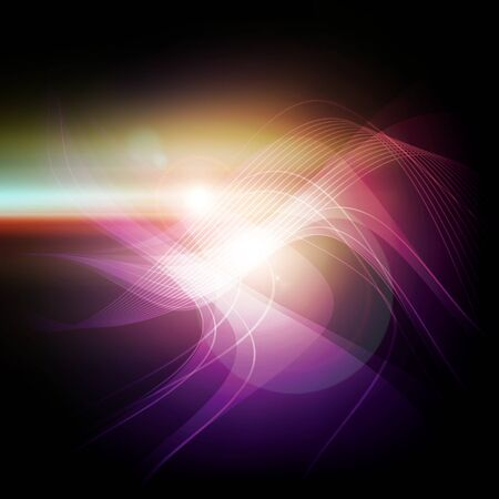 abstract violet light background Stock Photo - 17743464