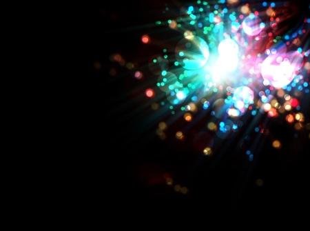 star dust: fantastic colorful  light