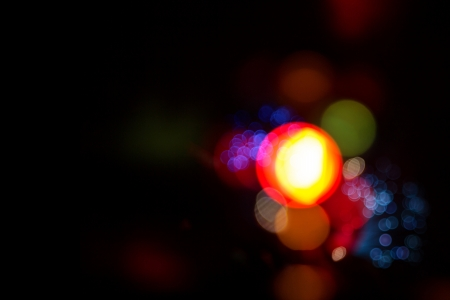 the miracle: festival light and bokeh