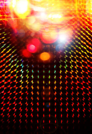 colorful disco light background Stock Photo - 17743705
