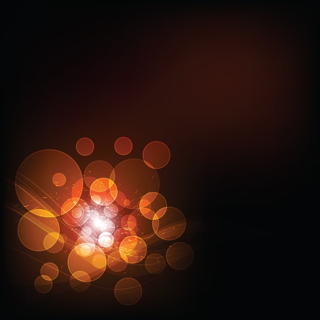 mirage: abstract bokeh background Illustration