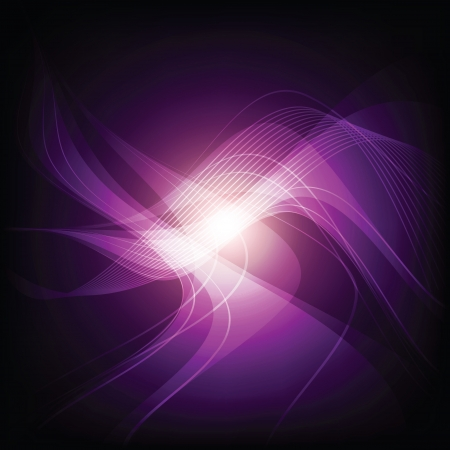 subconsciousness: abstract violet light background
