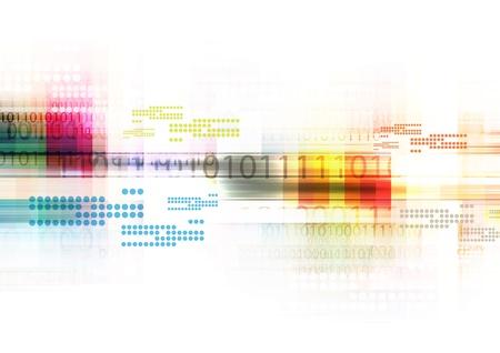 digitale abstracte achtergrond Stockfoto