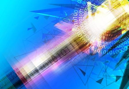telecoms: tecnologia astratto sfondo design