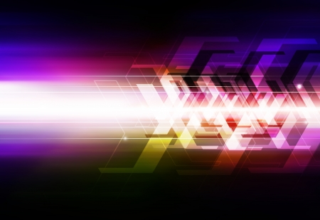 abstract arrow background photo