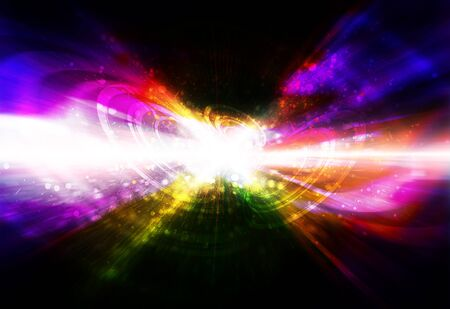 miraculous: abstract fantasy background Stock Photo
