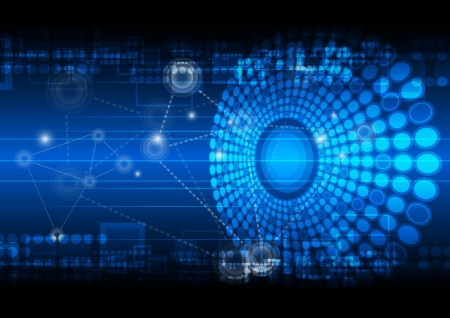 telecoms: network technology background