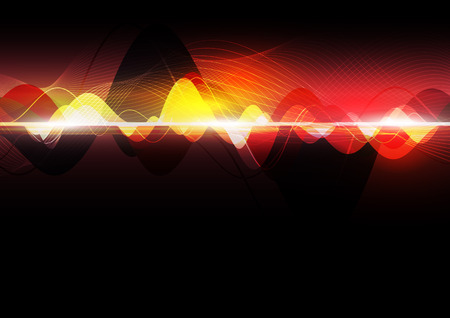 sonic: abstract wave design