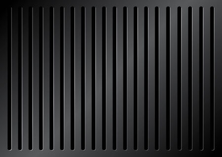 metallic grille background Vector
