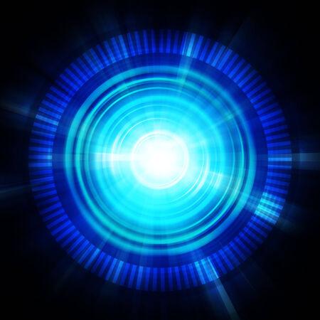 blue energy illustration background