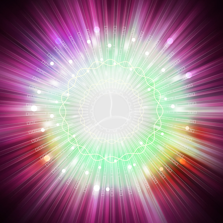 star light: star light aura explosion, illustration background Stock Photo