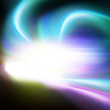 aura energy: aura light universe, illustration background Stock Photo