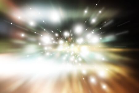 star light: star light aura motion in universe, illustration background