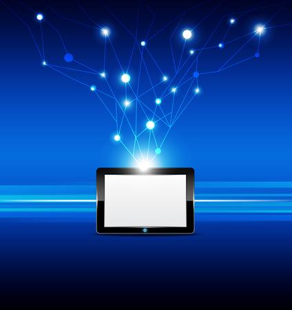 computador tablet: tablet tecnologia sinal de computador