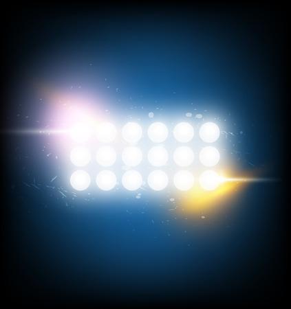 spotlight: spotlight with optical flare