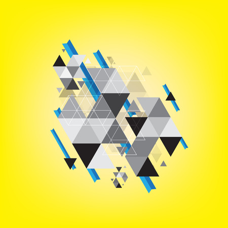 triangle pattern: abstract triangle pattern background