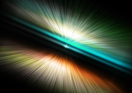 universum: abstrakte Aura Raum Universum, Geschwindigkeit Licht Hintergrund Illustration Lizenzfreie Bilder