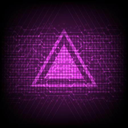 vector digital abstract background, firewall technology