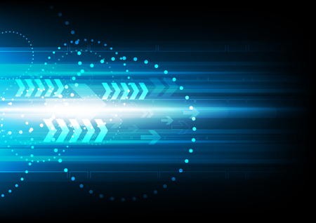 arrow speed, vector communication abstract background