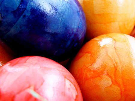 finds: Coloured Easter eggs